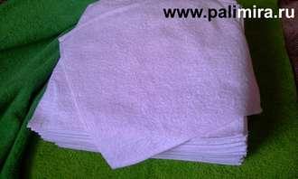 Махровые салфетки 30х30 полотенце ошибори