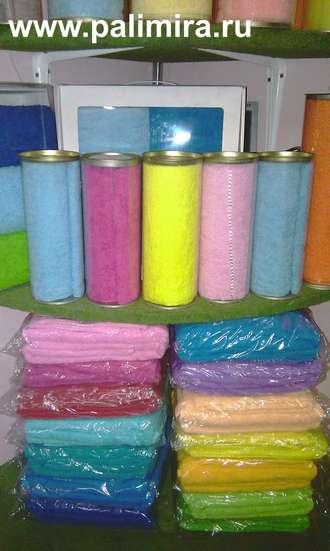 Подарочные наборы полотенец от компании Пальмира оптом и в розницу