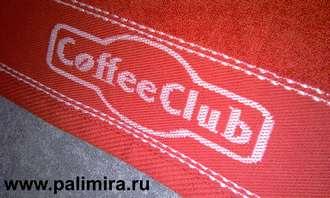Сувенирные махровые полотенца с фирменной символикой купить оптом от компании Пальмира